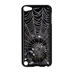 Spider Web Wallpaper 14 Apple Ipod Touch 5 Case (black) by BangZart