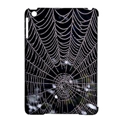 Spider Web Wallpaper 14 Apple Ipad Mini Hardshell Case (compatible With Smart Cover) by BangZart