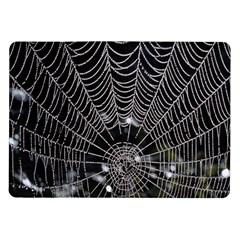Spider Web Wallpaper 14 Samsung Galaxy Tab 10 1  P7500 Flip Case by BangZart