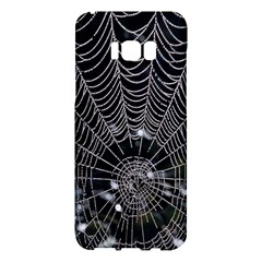 Spider Web Wallpaper 14 Samsung Galaxy S8 Plus Hardshell Case  by BangZart
