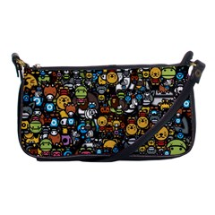 Many Funny Animals Shoulder Clutch Bags by BangZart