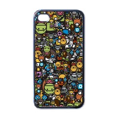 Many Funny Animals Apple Iphone 4 Case (black) by BangZart