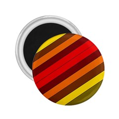 Abstract Bright Stripes 2 25  Magnets by BangZart