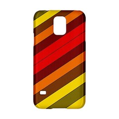 Abstract Bright Stripes Samsung Galaxy S5 Hardshell Case  by BangZart