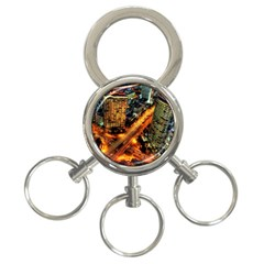 Hdri City 3 Ring Key Chains by BangZart