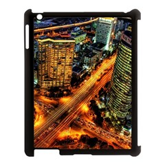 Hdri City Apple Ipad 3/4 Case (black) by BangZart