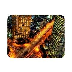 Hdri City Double Sided Flano Blanket (mini)  by BangZart