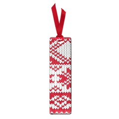 Crimson Knitting Pattern Background Vector Small Book Marks by BangZart