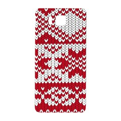 Crimson Knitting Pattern Background Vector Samsung Galaxy Alpha Hardshell Back Case by BangZart