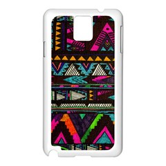 Cute Hipster Elephant Backgrounds Samsung Galaxy Note 3 N9005 Case (white) by BangZart