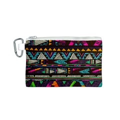 Cute Hipster Elephant Backgrounds Canvas Cosmetic Bag (s) by BangZart