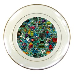 Comics Porcelain Plates by BangZart