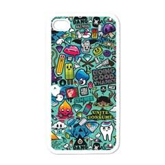 Comics Apple Iphone 4 Case (white) by BangZart