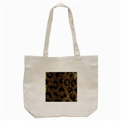 Metallic Snake Skin Pattern Tote Bag (cream) by BangZart