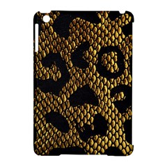 Metallic Snake Skin Pattern Apple Ipad Mini Hardshell Case (compatible With Smart Cover) by BangZart