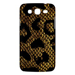 Metallic Snake Skin Pattern Samsung Galaxy Mega 5 8 I9152 Hardshell Case  by BangZart