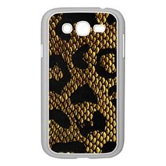 Metallic Snake Skin Pattern Samsung Galaxy Grand Duos I9082 Case (white) by BangZart