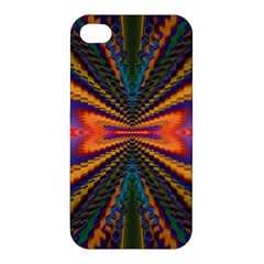 Casanova Abstract Art Colors Cool Druffix Flower Freaky Trippy Apple Iphone 4/4s Hardshell Case by BangZart