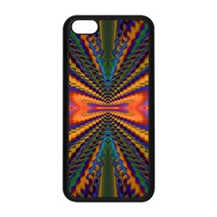 Casanova Abstract Art Colors Cool Druffix Flower Freaky Trippy Apple Iphone 5c Seamless Case (black) by BangZart