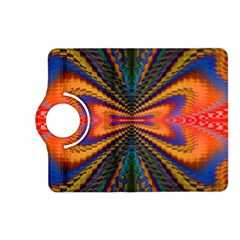 Casanova Abstract Art Colors Cool Druffix Flower Freaky Trippy Kindle Fire Hd (2013) Flip 360 Case by BangZart