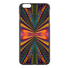 Casanova Abstract Art Colors Cool Druffix Flower Freaky Trippy Apple Iphone 6 Plus/6s Plus Black Enamel Case by BangZart