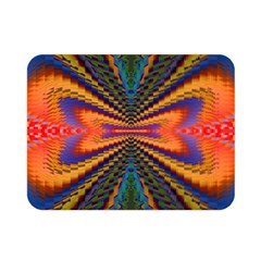 Casanova Abstract Art Colors Cool Druffix Flower Freaky Trippy Double Sided Flano Blanket (mini)  by BangZart