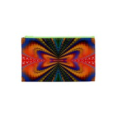 Casanova Abstract Art Colors Cool Druffix Flower Freaky Trippy Cosmetic Bag (xs) by BangZart