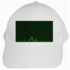 01 Numbers White Cap by BangZart