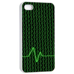 01 Numbers Apple Iphone 4/4s Seamless Case (white) by BangZart