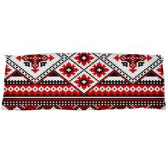 Consecutive Knitting Patterns Vector Body Pillow Case Dakimakura (two Sides) by BangZart