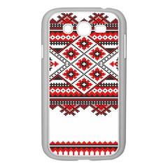 Consecutive Knitting Patterns Vector Samsung Galaxy Grand Duos I9082 Case (white) by BangZart