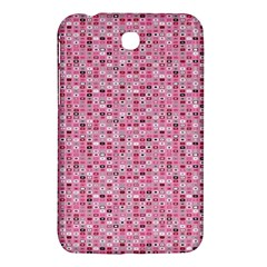 Abstract Pink Squares Samsung Galaxy Tab 3 (7 ) P3200 Hardshell Case  by BangZart