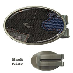 World Map Money Clips (oval)  by BangZart
