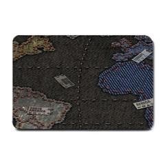 World Map Small Doormat  by BangZart