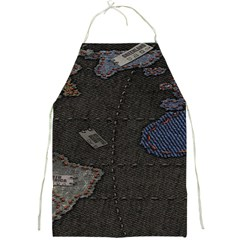 World Map Full Print Aprons by BangZart
