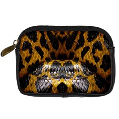 Textures Snake Skin Patterns Digital Camera Cases by BangZart