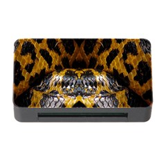 Textures Snake Skin Patterns Memory Card Reader With Cf by BangZart
