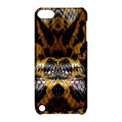 Textures Snake Skin Patterns Apple Ipod Touch 5 Hardshell Case With Stand by BangZart