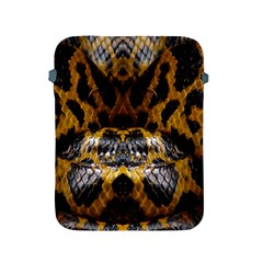 Textures Snake Skin Patterns Apple Ipad 2/3/4 Protective Soft Cases by BangZart