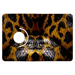Textures Snake Skin Patterns Kindle Fire Hdx Flip 360 Case by BangZart