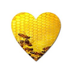 Sweden Honey Heart Magnet by BangZart