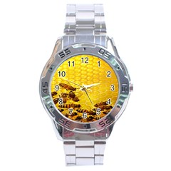 Sweden Honey Stainless Steel Analogue Watch by BangZart