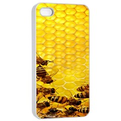 Sweden Honey Apple Iphone 4/4s Seamless Case (white) by BangZart