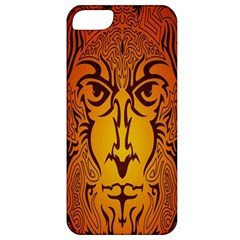 Lion Man Tribal Apple Iphone 5 Classic Hardshell Case by BangZart