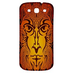 Lion Man Tribal Samsung Galaxy S3 S Iii Classic Hardshell Back Case by BangZart