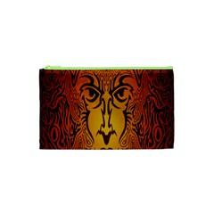 Lion Man Tribal Cosmetic Bag (xs) by BangZart