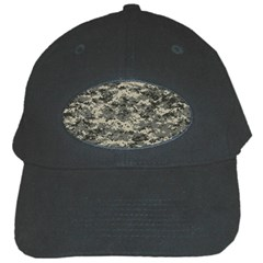 Us Army Digital Camouflage Pattern Black Cap by BangZart