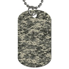 Us Army Digital Camouflage Pattern Dog Tag (two Sides) by BangZart
