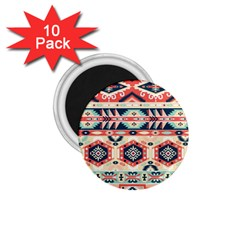 Aztec Pattern Copy 1 75  Magnets (10 Pack)  by BangZart