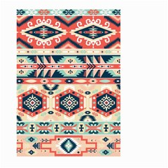 Aztec Pattern Copy Large Garden Flag (two Sides) by BangZart